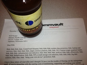 CommVault marketing